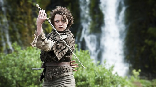 Arya Stark wallpaper probably containing a rifleman, a green beret, and a navy seal entitled Arya Stark