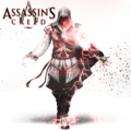 Assassin's Creed with lightning effects - assassins-creed fan art