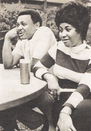 At início With Aretha Franklin And First Husband, Ted White
