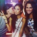 Avicii kiss his Girlfriend Racquel Natasha