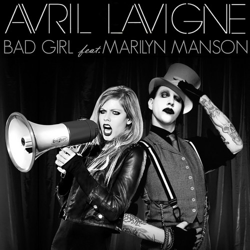 Avril Lavigne پیپر وال entitled Avril Lavigne - Bad Girl (feat. Marilyn Manson)