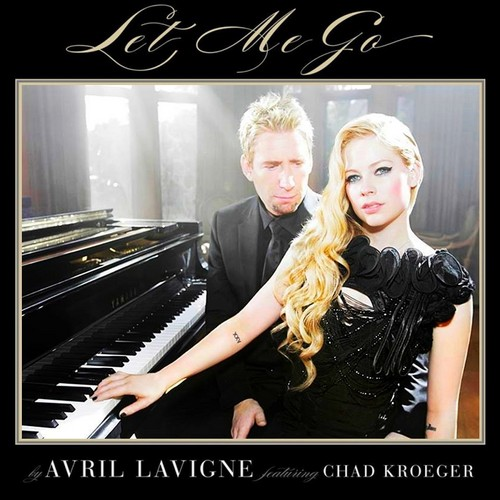 Avril Lavigne wolpeyper containing a pianist, a grand piano, and a piano titled Avril Lavigne - Let Me Go (feat. Chad Kroeger)