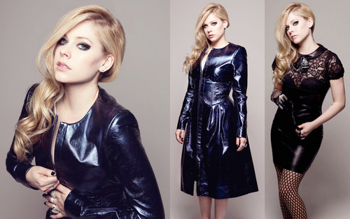 Avril Lavigne wallpaper containing a cocktail dress and a well dressed person called Avril Lavigne
