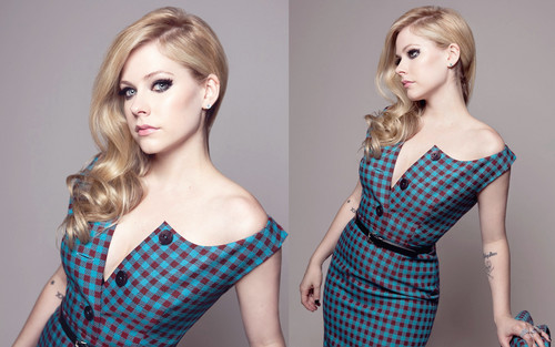 Avril Lavigne پیپر وال possibly containing a bustier, a chemise, and a chemise called Avril Lavigne