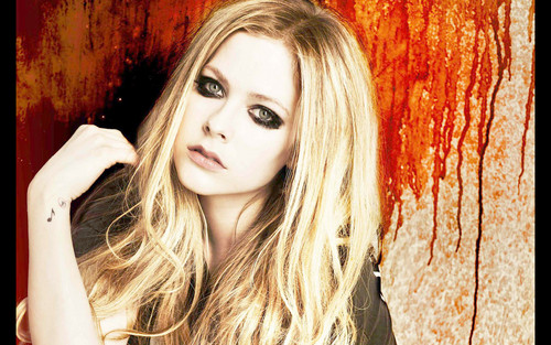 Avril Lavigne پیپر وال with a portrait called Avril Lavigne
