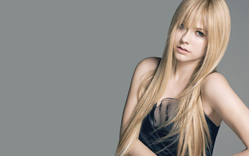 avril lavigne wallpaper possibly with attractiveness, a portrait, and skin titled Avril Lavigne