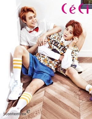 B2ST get for 'CeCi'