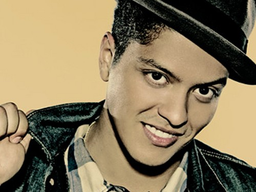 Bruno Mars fond d'écran containing a fedora, a porkpie, and a dress hat entitled BRUNO MARS