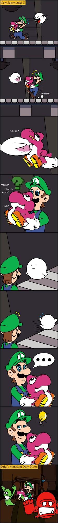 Baby Yoshi Comic