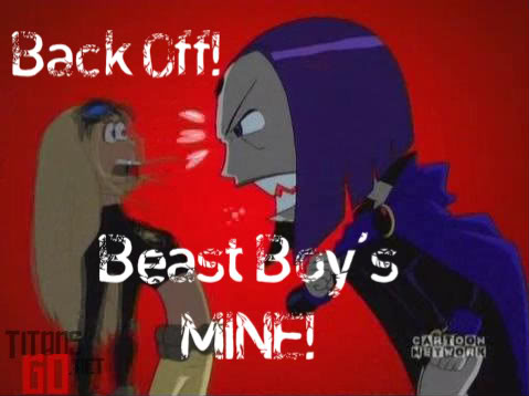Back Off Beast Boy's MINE!!!