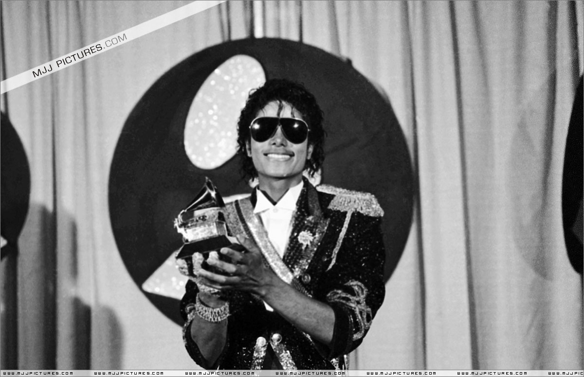 Backstage At The 1984 Grammy Awards
