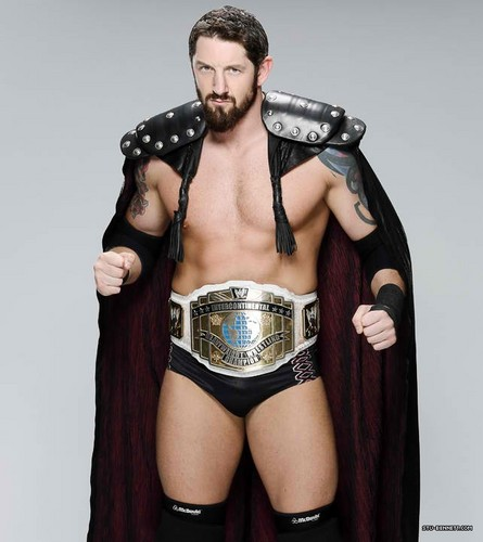 Wade Barrett wallpaper probably with a playsuit, salopette corta entitled Bad News Barrett