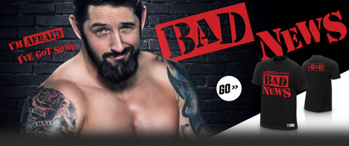 Wade Barrett wallpaper possibly with a pezzo, hunk called Bad News Barrett