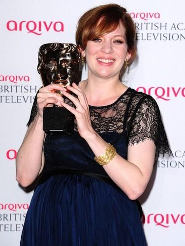 Katherine Parkison fond d'écran entitled Bafta Winner for Best Comedy Actress