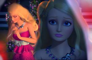 Barbie's rosa Party Wear
