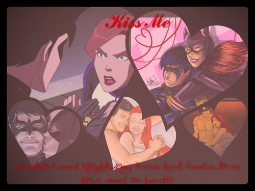 Young Justice wallpaper with Anime titled Batgirl And Nightwing Fanfiction