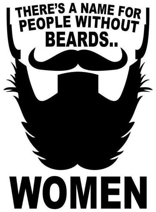 Guys With Beards And no Mustache Beards-and-mustaches Fan