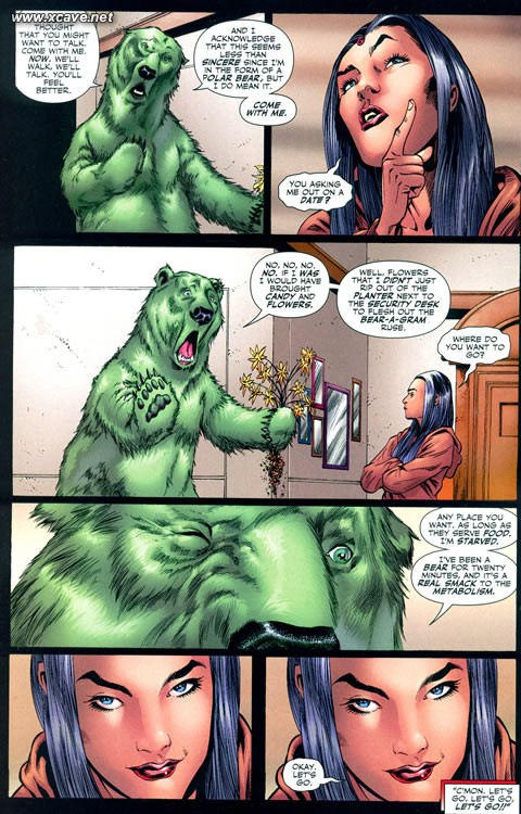 Beast Boy Asks Raven Out (Comics)