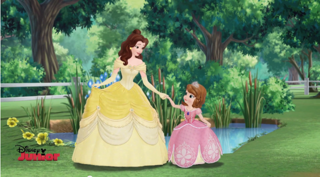 Belle and Sofia the First