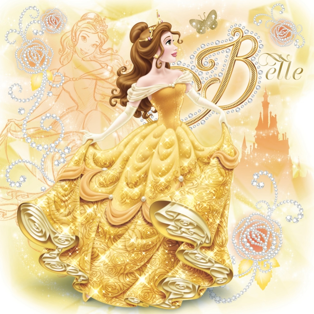 Belle disney princess photo 37082028 fanpop for Belle image hd