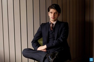"Ben Whishaw in ""The Hour"""