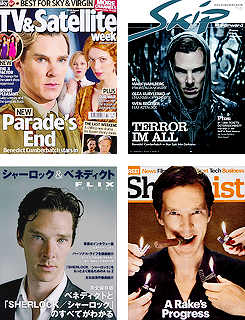 Ben's Magazine Covers