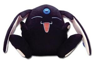 Black Mokona plushie