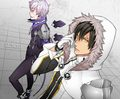 Blade Master and Lunatic Psyker - elsword fan art