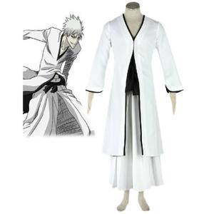 Bleach White Ichigo Kurosaki cosplay costume