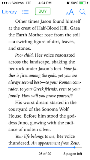 Blood Of Olympus chapter 1 page 14