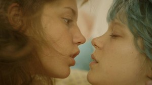 Blue Is the Warmest Color - adele and Emma