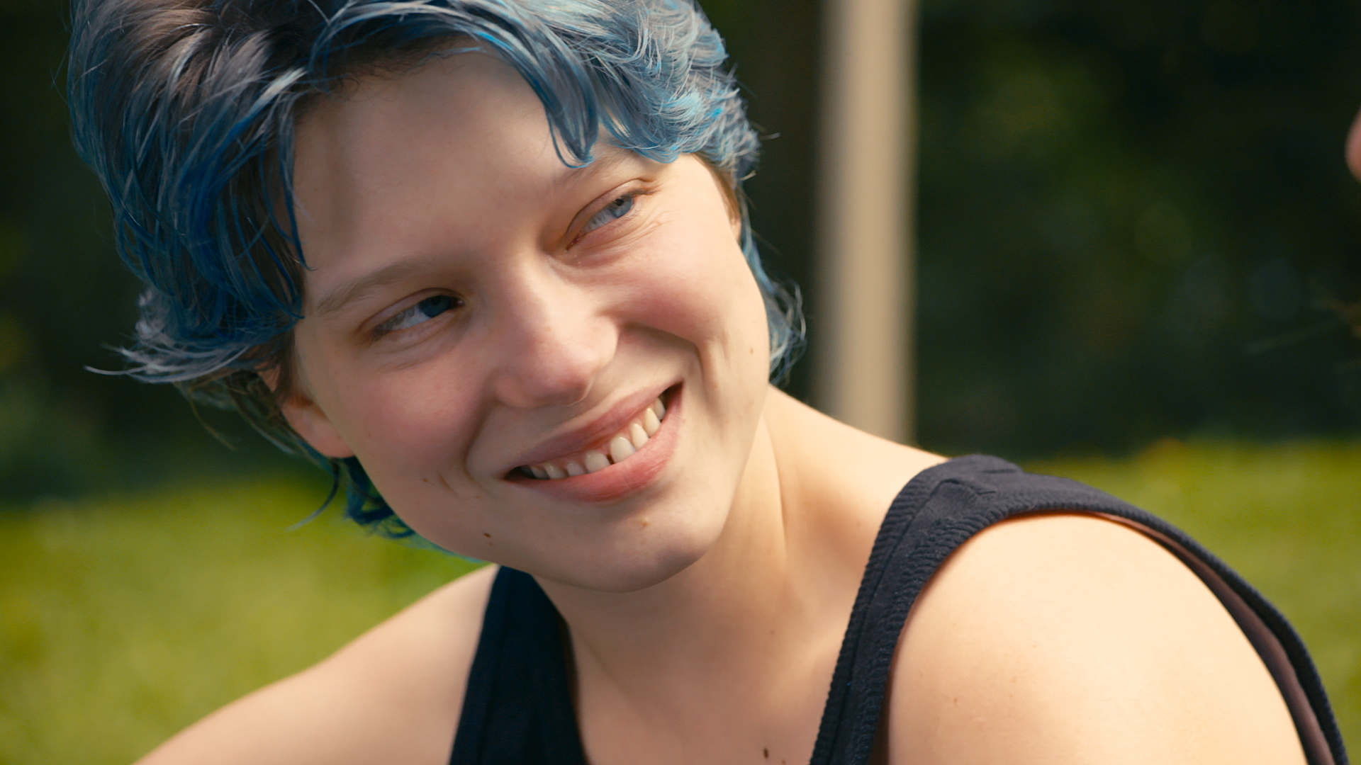 image Blue is the warmest color uncut