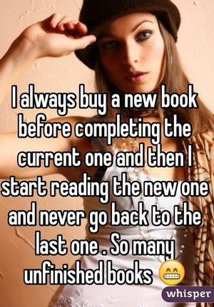 Book Lover Confessions