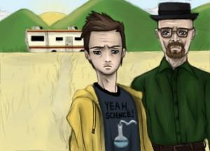 Breaking Bad - Jesse and Walt