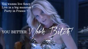 Britney Spears Work chó cái, bitch ! Special