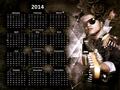 Bruno Mars Calendar