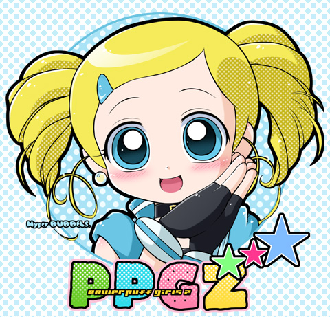 powerpuff girls Z 바탕화면 containing 아니메 titled Bubbles! _lovely.picture_