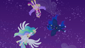 Cadance, Celestia, and Luna