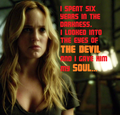 Caity quote: Arrow