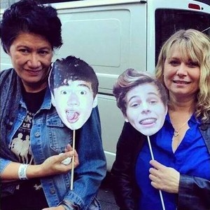 Calum's and Luke's Moms