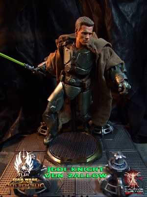 Calvin's Custom One Sixth Jedi Knight Ven Zallow