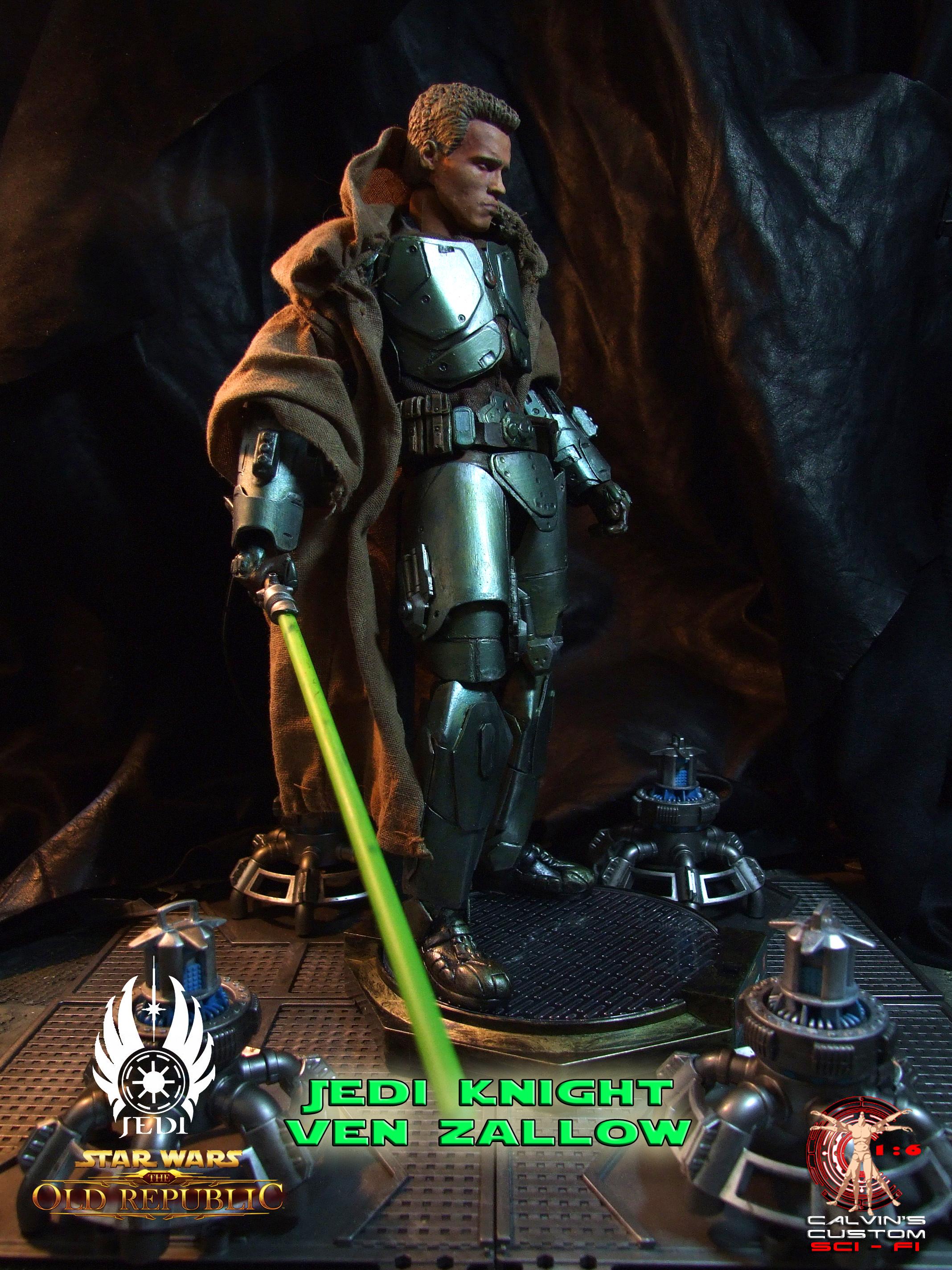 Calvin's Custom One Sixth Jedi Knight Ven Zallow