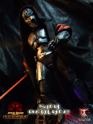 Calvin's Custom One Sixth SWTOR Sith Acolyte MKII