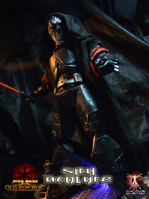 Calvin's Custom One Sixth SWTOR Sith Acolyte MKIII