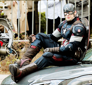 Captain America in The Avengers: Age of Ultron Settings in Seoul