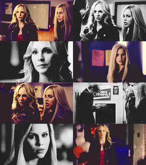 Caroline and Rebekah