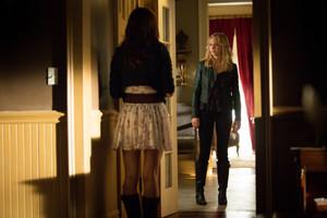 Caroline meets Hayley