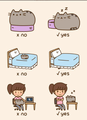 Cats do this - pusheen-the-cat photo