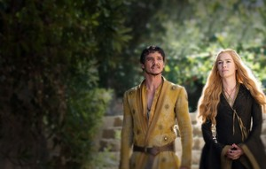 Cersei Lannister and Oberyn Martell Season 4