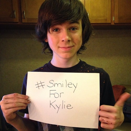 Chandler Riggs kertas dinding called Chandler :)